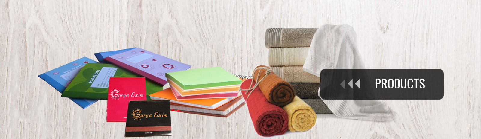Notebooks manufacturer